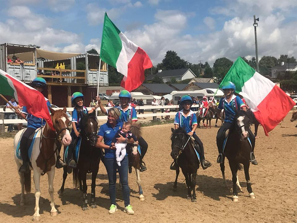 Campionati Europei 2018 Mounted Games – Francia