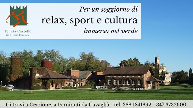 Tenuta Castello: relax, sport e cultura